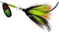 Mepps BFM HFT-BOY Musky Killer - In-Line Spinner-3/4 oz hot - BFM HFT-BOY