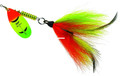 Mepps BM HFT-FT Musky Killer - In-Line Spinner Bucktail, 3/4 oz - BM HFT-FT
