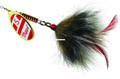 Mepps BM G/RW-G Musky Killer - In-Line Spinner Bucktail, 3/4 oz - BM G/RW-G