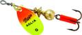 Mepps B0 HOC Aglia In-Line Spinner - 1/12 oz, Plain Treble Hook, Hot - B0 HOC