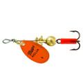 Mepps B0 OP Aglia In-Line Spinner - 1/12 oz, Plain Treble Hook, Orange - B0 OP