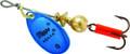 Mepps B0 BLP Aglia In-Line Spinner - 1/12 oz, Plain Treble Hook, Blue & - B0 BLP