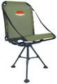 "Millennium G-100 Ground Blind Chair - Swiveling, Aluminum, 13"" - 18"" - G-100"