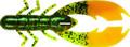 """Mister Twister 35PIC9-11BGN8 Poc'it - Craw, 3.5"""" JuJu Pump Green/ Orange - 35PIC9-11BGN8"""