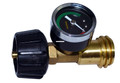 Mr Heater F276342 Propane Gas Gauge - Appliance End Fitting, Acme Nut x - F276342