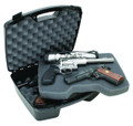 "MTM 811-40 Snap Latch Four Pistol - Handgun Case, 2-Layer, Up to 8"" - 811-40"