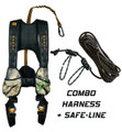 Muddy MSH600-L-C CrossOver Combo - Treestand Safety Harness, Flexible - MSH600-L-C