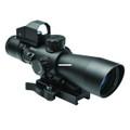 NcSTAR STP3942GDV2 STP3942G/DV2 USS - GEN II Riflescope, 3-9x42mm, P4 - STP3942GDV2