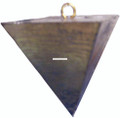Oregon Tackle 01012 Pyramid Sinker - 1oz 4Pc Pkg - 1012