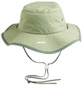 Outdoor Cap BH-600 Sunblock - Explorer Hat Leather Chin Cord Khaki - BH-600