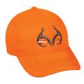 Outdoor Cap TRT80A Blaze Orange - Team Realtree Logo Cap Mid Profile - TRT80A