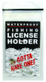 Pacific Catch 851 License Holder - Waterproof ZipLock Storage Device - 851