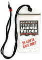 Pacific Catch 853 License Holder - w/Lanyard - 853