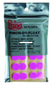 Palsa 30002-FP Pinch-On Float Pink - 24Pk - 30002-FP