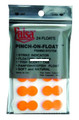 Palsa 30001-FO Pinch-On Float Org - 24Pk - 30001-FO