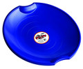 Paricon 626 Plastic Saucer Blue - Saucer w/Molded Hand Grips - 626