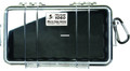 Pelican 1060-025-100 Micro Case - Black/Clear 9-3/8x5-9/16x2-5/8 - 1060-025-100
