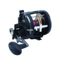 Penn WAR20LWLH Warfare Level Wind - Reel Sz20 3BB 15# Max Drag 5.1:1 - WAR20LWLH