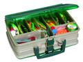 "Plano 112000 Double Sided Satchel - Box 12x9x4"" Sandstone/Grn - 112000"