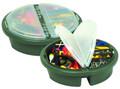 Plano 725001 Bucket Top Organizer - Fits 5 Gal bucket, 18 Compartments - 725001