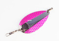 Poulsen 17123 Half Fast Arrow Flash - Jr Kokanee Dodger Nickel/Pink Net - 17123