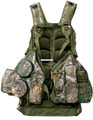 Primos 65718 Rocker Hunting Vest - Fold Down Seat, Molded Call Pockets - 65718