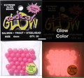 Radical Glow 50265 Beads 6mm - Powerful Pink Glow 30Pk - 50265