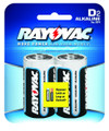 Rayovac 813-2K High Energy Alkaline - Batteries, D 2-Pack - 813-2K