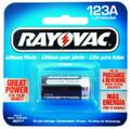 Rayovac RL123A Camera Battery - Lithium 3V 123A CR123A - RL123A