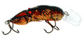 "Rebel D7475 Big Craw Crankbait, 2 - 5/8"", 7/16 oz, Ditch (Brown) - D7475"