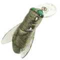 "Rebel F7412 Bumble Bug Crankbait, 1 - 1/2"", 7/64 oz, Horse Fly, Floating - F7412"
