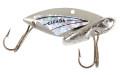 "Reef Runner 50107 Cicada Blade Lure - 2"", 1/2oz, Silver/Silver - 50107"