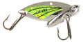 """Reef Runner 50101 Cicada Blade Lure - 2"""", 1/2oz Silver/Chartreuse - 50101"""