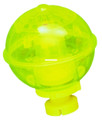 "Rieadco 214Y Night-Lighted Bobber - 2-1/4"" Round Yell w/Rattle Action - 214Y"