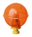 Rieadco NB-214O Night Bobby 214 - Orange Lighted Fishing Float - NB-214O