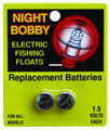 Rieadco A76 Night-Lighted Bobber - Batteries 2Pk Repl - A76
