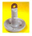 Roloff 15MVC Mushroom Anchor 15Lb - Vinyl Coated Gray - 15MVC