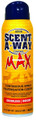 Scent-A-Way 07726 Max Odorless - Continuous Spray 15.5oz - 7726