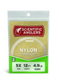 Scientific Anglers 112185 Premium - Nylon Fly Leader 9' 12# Clear - 112185