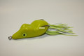 Scum Frog BR-504 Bassrat Topwater - Frog, 5/16 oz, Chartreuse - BR-504