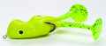 "Scum Frog BF-1404 Bigfoot Topwater - Frog, 2 1/2"", 3/8 oz, Chartreuse - BF-1404"