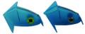 Shelton AFBRBL2PK FBR Head Only 2Pk - Sm Blue - AFBRBL2PK
