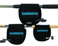Shimano ANSC840A Neoprene Spinning - Reel Cover Md Black - ANSC840A
