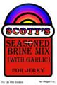 Sikes JBG Brine Mix Jerky w/Garlic - JBG