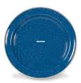 Stansport 15741 Enamel Dinner Plate - Stainless Edge - 10 Inch - 15741