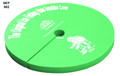 "Therm-A-Seat 502 Ice Hole Cover - 12-1/2"" Green - 502"