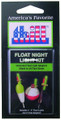 Thill AFL2 Glow Stick Float Night - Light Kit Includes 2-Light Sticks & - AFL2