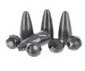 Top Brass PDI-316ABL Brass N' Glass - 3/16oz Black 10Pk - PDI-316ABL
