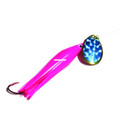 Trout Killer TK PINK-BLUE 3 Snelled - Trout Spinner, #3, Pink/Blue - TK PINK-BLUE 3