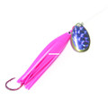 Trout Killer TK PINK-PURP 3 Snelled - Trout Spinner, #3 Blade, Sz 4 Red - TK PINK-PURP 3